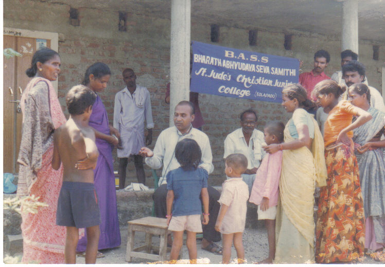 bass-medical-camp-in-a-village